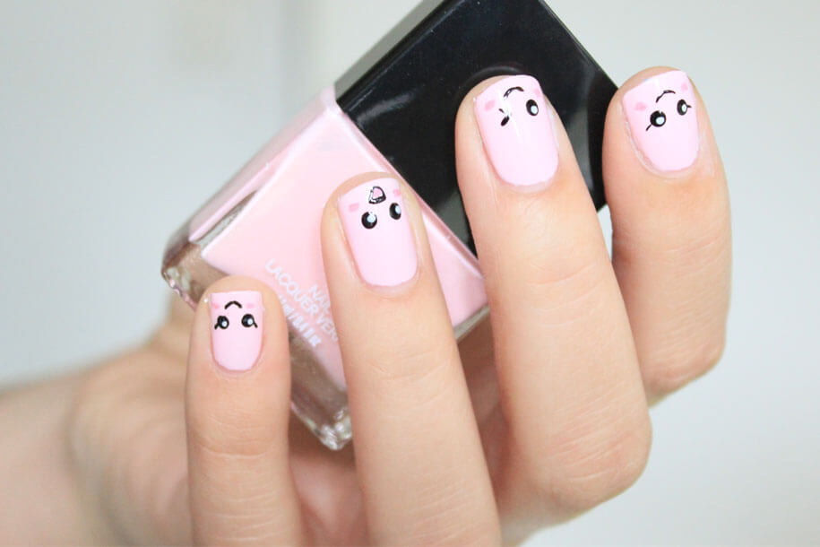 Kawaii nail art i hope that youll enjoy the nail art it is super simple and super cute to see all the yokos nail art here is her channel httpsyoutubeuser prinsesfo Images