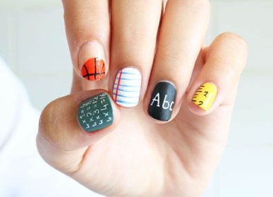 Back-To-School-Nail-Art
