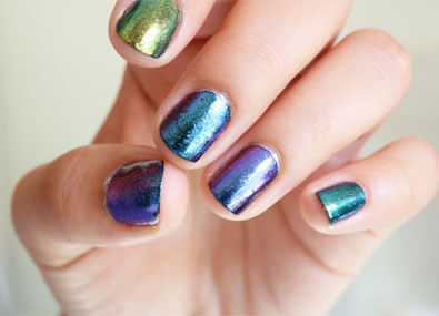 Chrome-Nail-Art