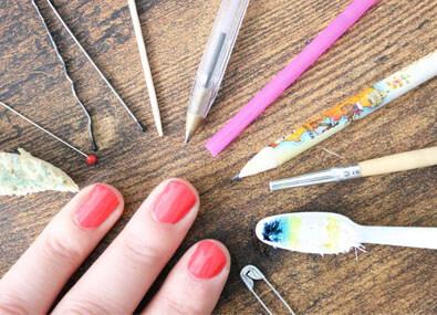 Du-materiel-Nail-Art-fait-maison
