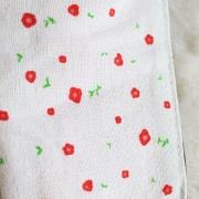 Trousse en tissu blanc
